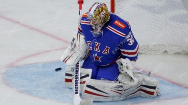 Вратарь СКА Шестеркин ушел в НХЛ