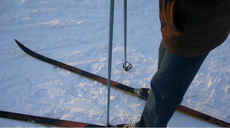 В петербургских электричках до середины марта можно будет бесплатно возить лыжи