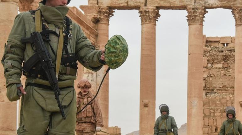 Военные РФ в Сирии. Фото: Минобороны