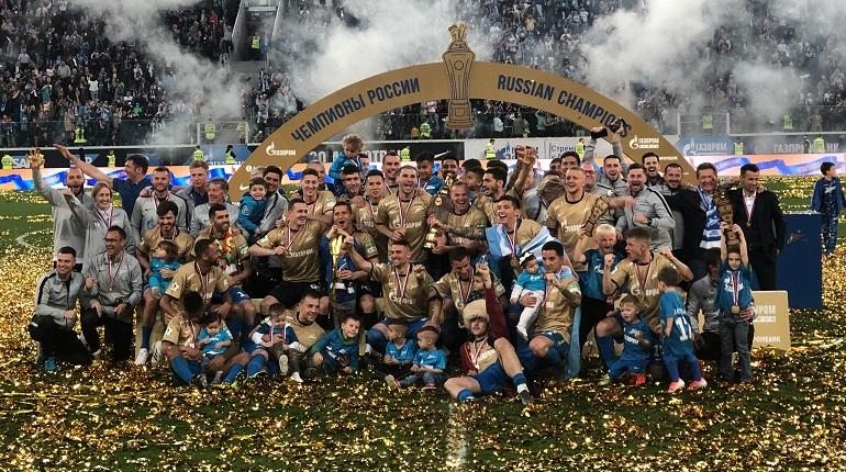 Чемпионский парад «Зенита» пройдет по каналам Петербурга 26 мая