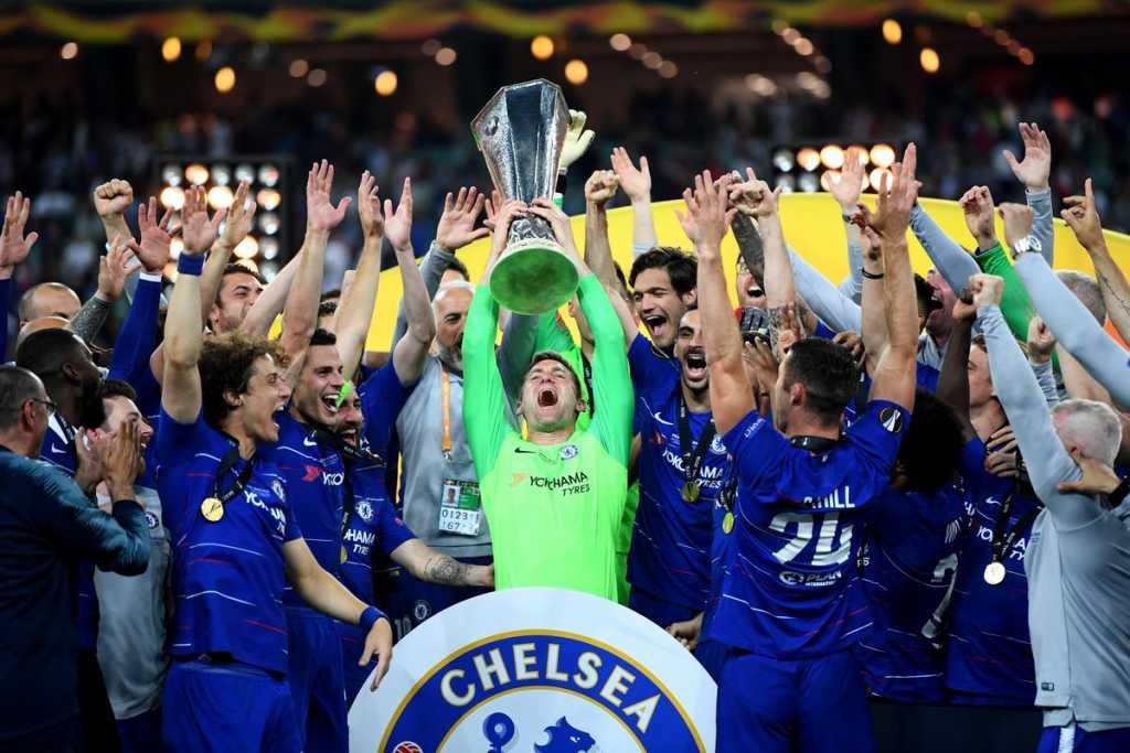 «Челси» выиграл Лигу Европы, разгромив «Арсенал»