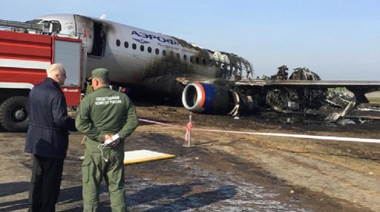 СК назвал возможные причины катастрофы в Шереметьево