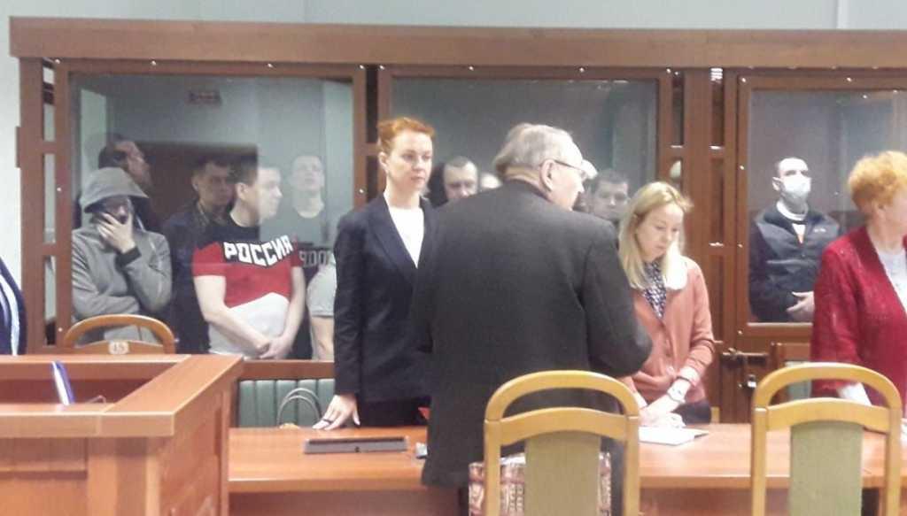 Суд над членами преступной группировки. Фото: Объединенная пресс-служба судов Петербурга
