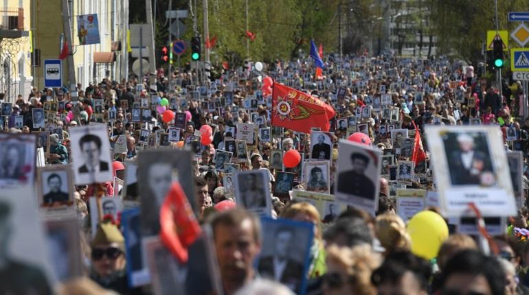 В шествии «Бессмертного полка» в Ленобласти поучаствовали 260 тысяч человек