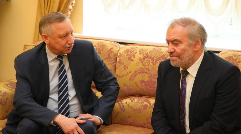 Александр Беглов и Валерий Гергиев