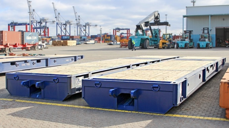 В районе порта Бронки построят логистический центр