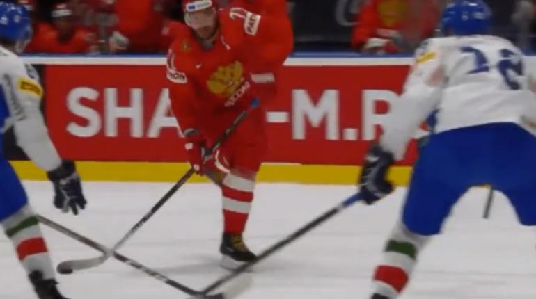 Россия забила Италии десять шайб на ЧМ по хоккею