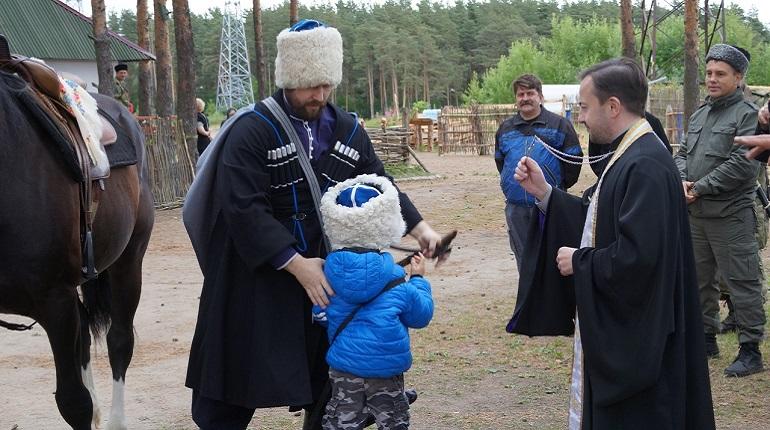 В Петербурге проведут старинный казачий обряд «Посажение на коня»