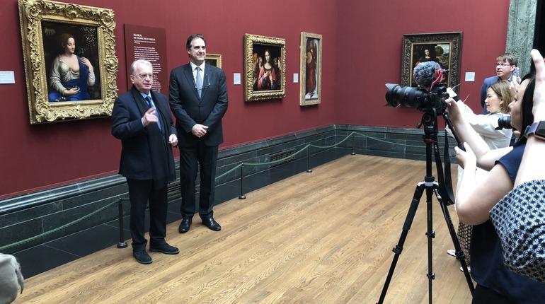 Эрмитаж отправил в Лондон картину любимого ученика Да Винчи