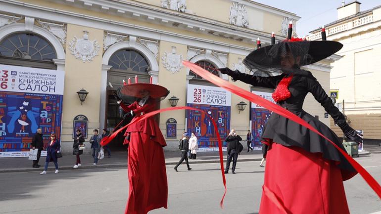 Книжный салон в Петербурге посетили 250 тысяч человек