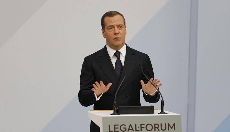 Премьер-министр РФ Дмитрий Медведев. Фото: Мойка78/Михаил Киреев