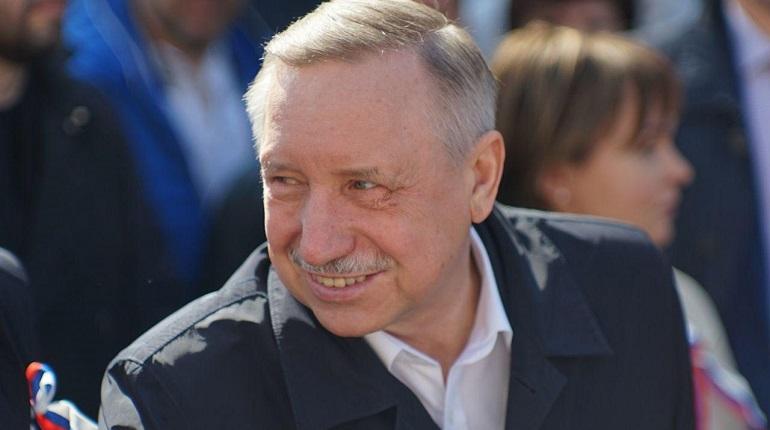 Врио губернатора Александр Беглов. Фото: Мойка78