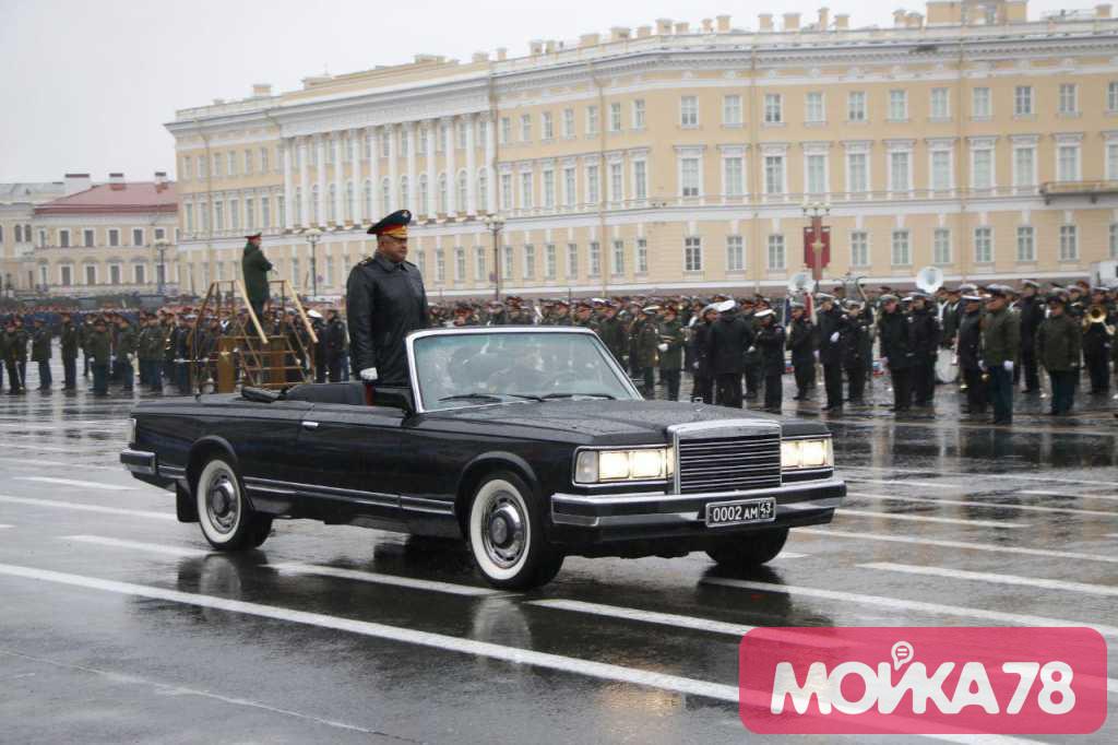 Репетиция Парада под ливнем: фоторепортаж «Мойки78»