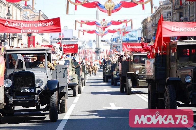 Затраты на оформление Петербурга к майским праздникам выросли до 28 млн