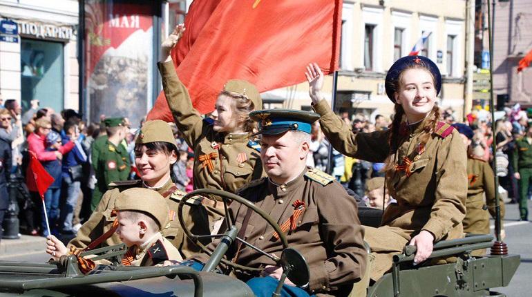 Как Петербург отметил День Победы