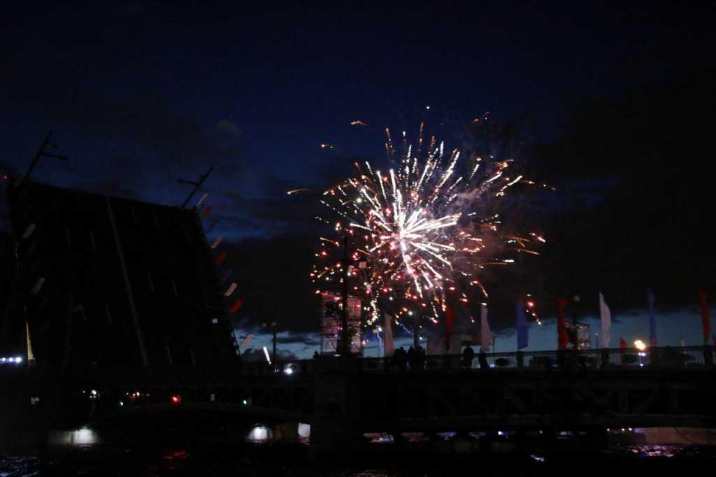 Ночное небо Петербурга 22 августа военные ЗВО озарят салютом