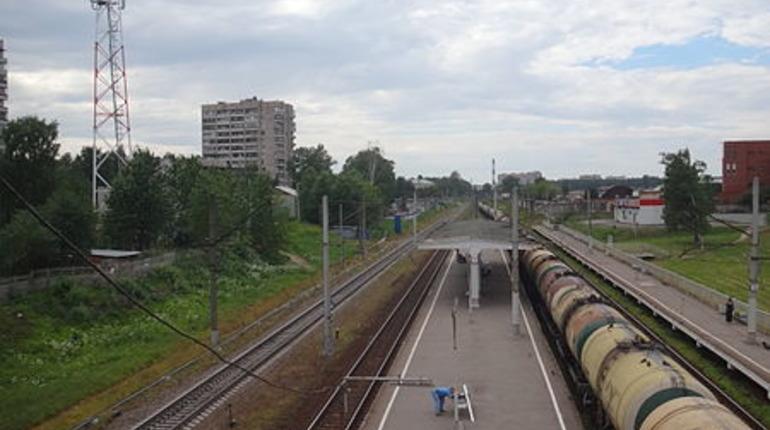 Петербурженка застряла между поездом и платформой на Пискаревке