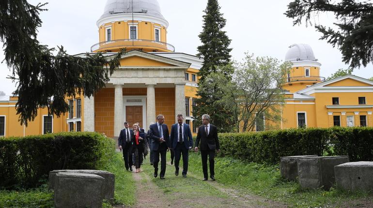 Александр Беглов побывал в Пулковской обсерватории. Фото: gov.spb.ru