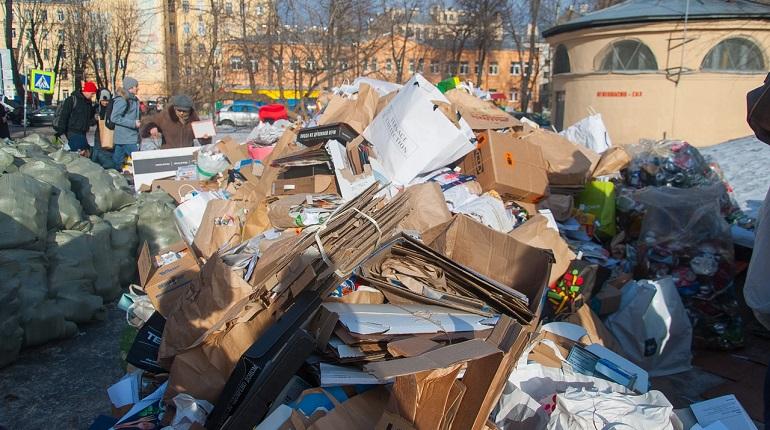 Депутаты настаивают на установке контейнеров для раздельного сбора мусора в Петербурге