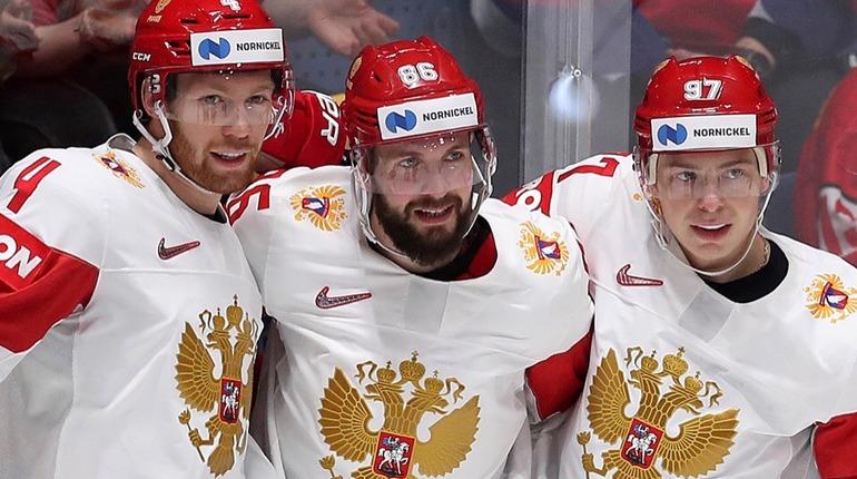 Сборная России одержала пятую победу на ЧМ по хоккею