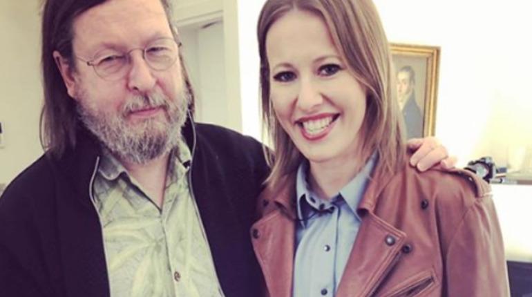 Ларс фон Триер и Ксения Собчак. Фото: Instagram