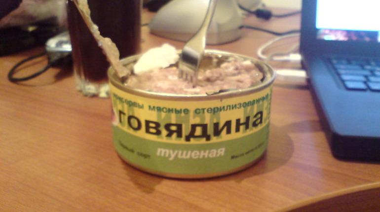 Почти 90% тушенки в Петербурге не отвечают ГОСТу
