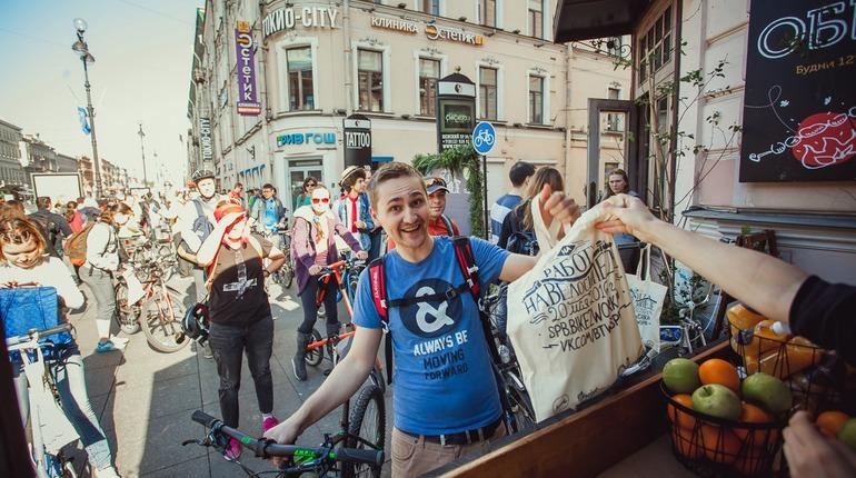 В Петербурге в пятницу пройдет акция «На работу на велосипеде»