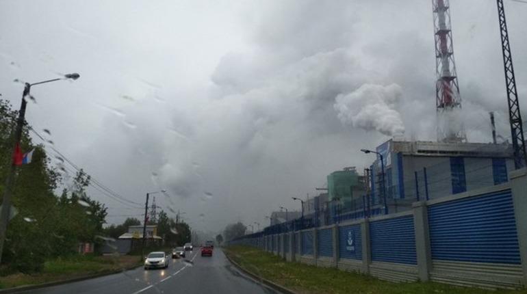 Волхов встретил экологов смогом