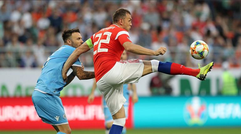 Сборная России разгромила Сан-Марино и установила рекорд по голам