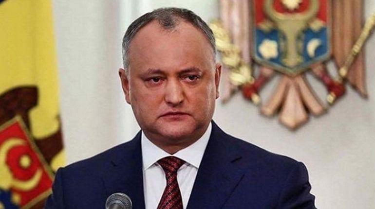 Президента Молдавии временно лишили полномочий