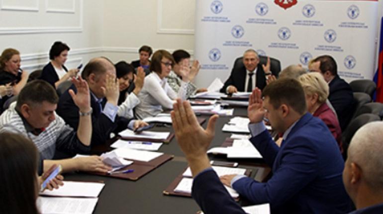 Петербургский Горизбирком изменил границы избирательных округов