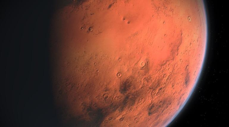 Кислота могла разрушить жизнь на Марсе