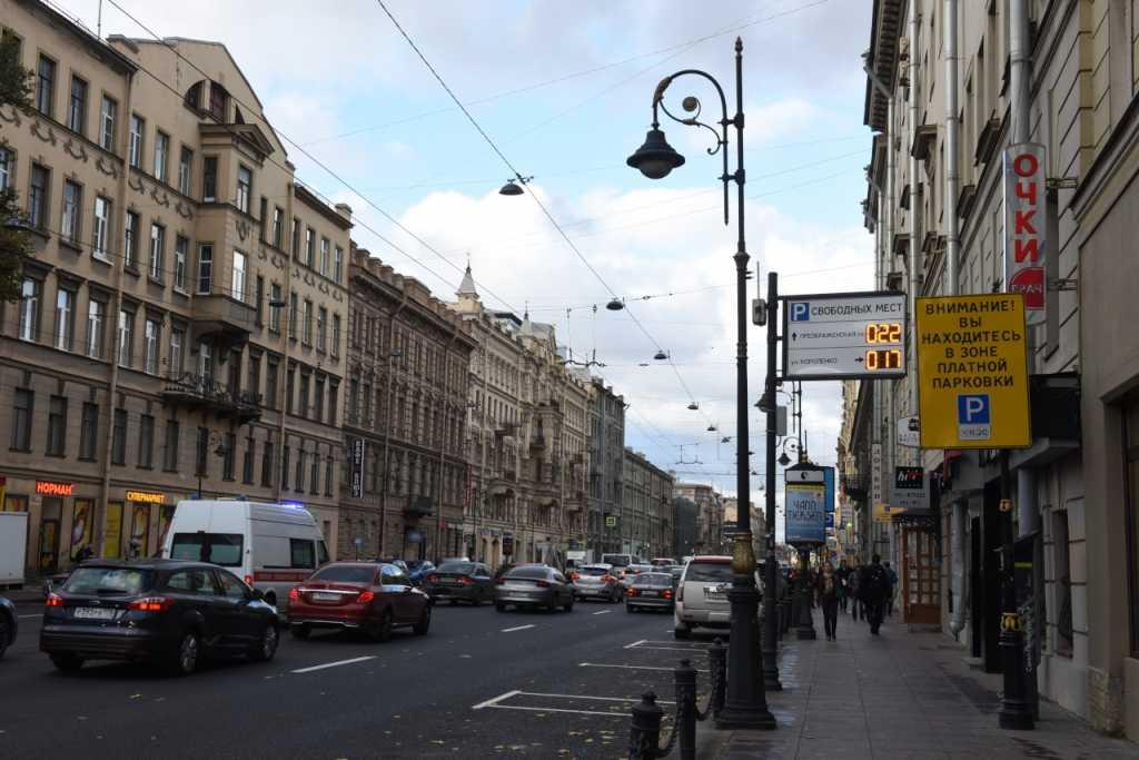 Из-за сбоя четыре часа в Петербурге не работали платные парковки