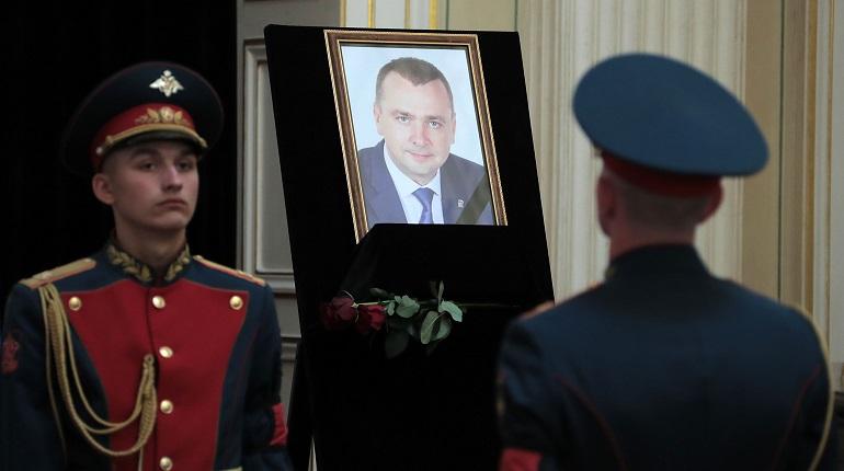 Панихида по депутату ЗакСа Павлу Зеленкову. Фото: ЗакС