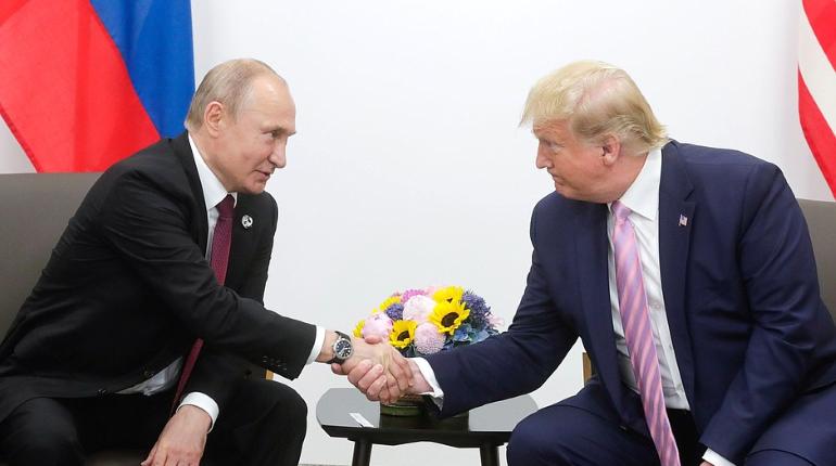 Путин поблагодарил Трампа за помощь в предотвращении терактов в Петербурге