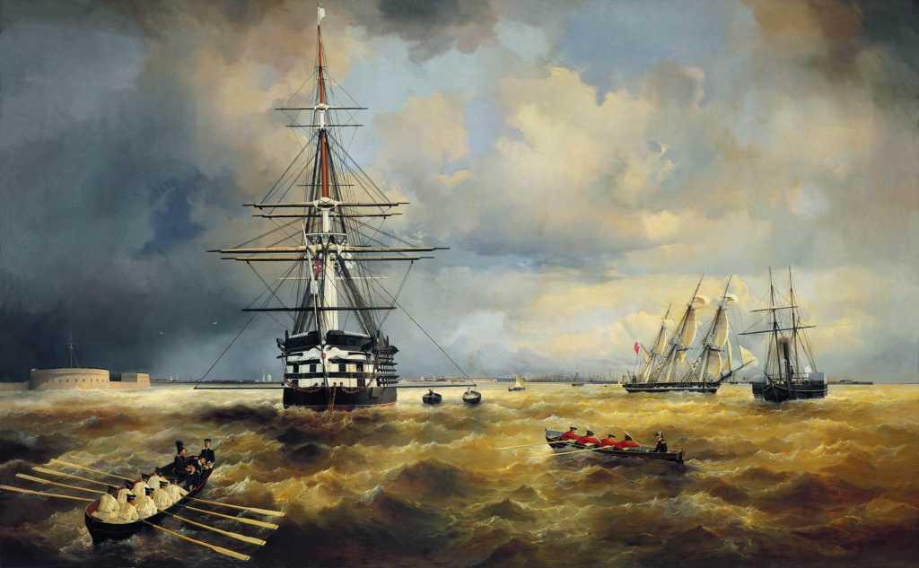 «Кронштадтский рейд» покажет ранее недоступные полотна Айвазовского