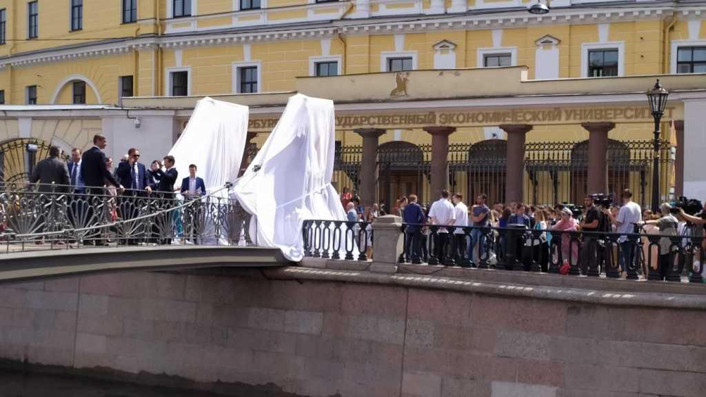 Беглов на открытии Банковского моста загадал финансовое желание