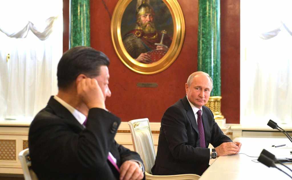 В США опасаются сближения России и Китая