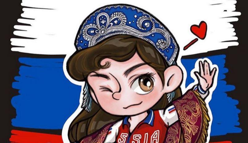 Фигуристка Медведева поздравила великий народ с Днем России