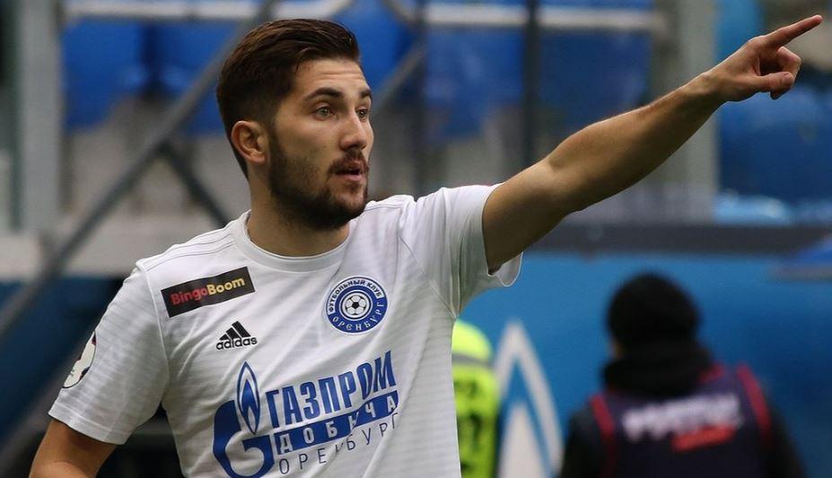 Полузащитник «Оренбурга» Сутормин может продолжить карьеру в «Зените»