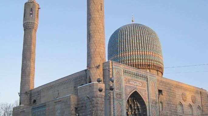Мечеть на Кронверкском проспекте. Фото: Гугл Карты