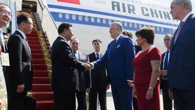 губернатор Ленобласти Александр Дрозденко встретился с китайским лидером Си Цзиньпином. Фото: Instagram