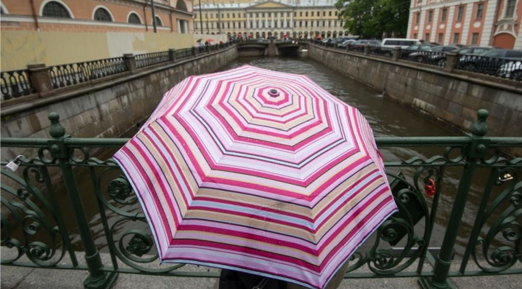 Во вторник в Петербурге усилится ветер и пойдет дождь