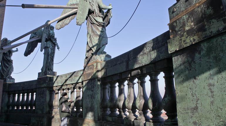 Балюстраду Исаакия откроют для экскурсий на Неделе реставрации