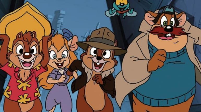 Disney выпустит новую версию мультсериала «Чип и Дейл»