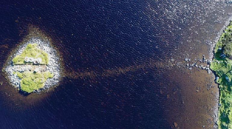 Ученые выяснили точный возраст искусственных островов в Шотландии