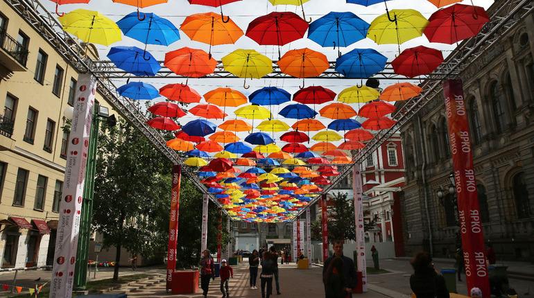 Петербург останется без «Аллеи парящих зонтиков»