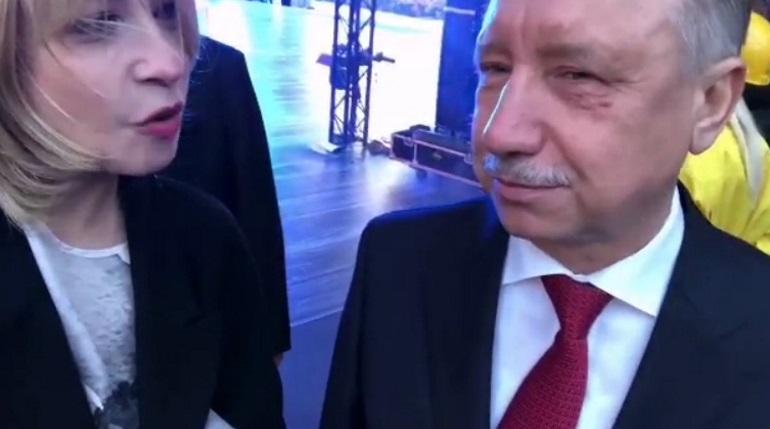 Беглов вспомнил свой выпускной в день «Алых парусов»