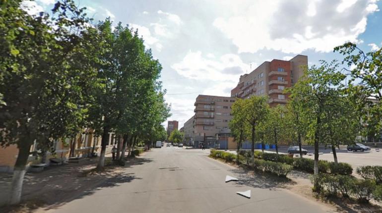 В Луге начали обустройство новой пешеходной зоны