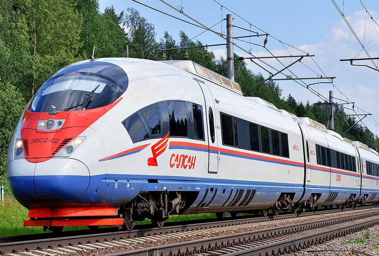 Время движения «Сапсана» между Москвой в Петербургом сократят на 30 минут